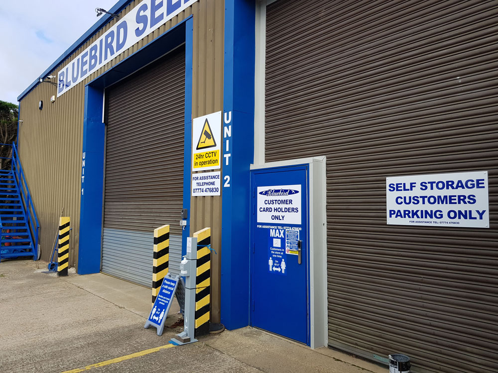 Front of North Walsham Indoor Self Storage