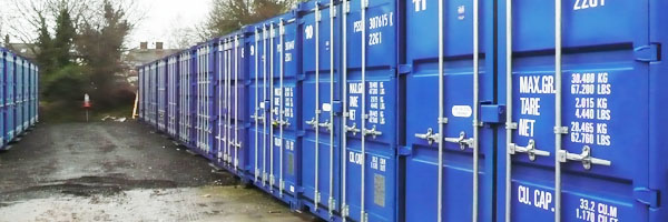 Storage Containers in North Walsham